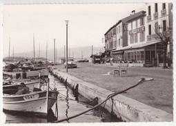 CPA SAINT-MANDRIER Les Quais Hôtel Saint Georges (83) - Saint-Mandrier-sur-Mer