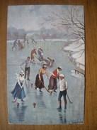 (patinage) Ludwig SCHRÖPLER: Hockey Sur Glace, 1908, TBE. - Sports D'hiver