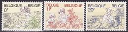 BELGIUM 1983  Mi 2138-2140   MNH**