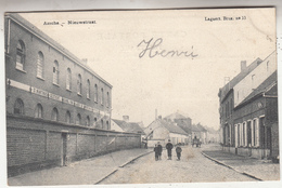 Asse - Assche - Nieuwstraat - Geanimeerd - 1906 - Uitg. Lagaert, Brussel Nr 33