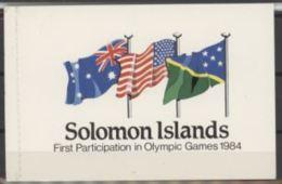 Salomon 1984 Jeux Olympiques Booklet Carnet - Solomon Islands (1978-...)