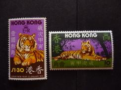 HONG KONG 244/245 Xx ( YVERT ) COTE : 80 EURO ( B ) - Hong Kong (1997-...)