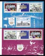 1991, Irland, 755/58 HBl 24/25 Aus MH 17,   Dublin - Kulturhauptstadt Europas 1991. MNH ** - Ongebruikt