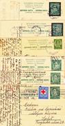 Yugoslavia - Lot 6 Postal Stationary, Dopisnice, Carte Postale, Viaggiate, All Used - 1931-1941 Kingdom Of Yugoslavia