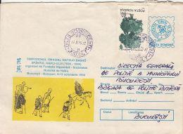 WRITERS, MATSUO MASHO, COVER STATIONERY, ENTIER POSTAL, 1995, ROMANIA