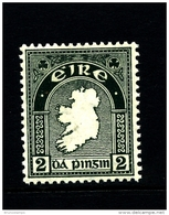 IRELAND/EIRE - 1923  2d.  MAP  SE WMK  MINT  SG 74 - 1922-37 Stato Libero D'Irlanda