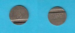"Telephone Token SERIE  "" A ""  ( Croatia ) Jeton Ficha Spielmarke Gettone Counter Telephones Phone Phones Telefono - Tokens & Medals"