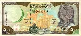 SYRIE 500 LIVRES De 1998   Pick 110a  AU/XF+ - Syrie