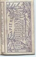 Carnet De Feuilles De Papier à Cigarettes/GOUDRON La + :Authentique/N°110/L LACROIX/Vers 1950                      CIG40 - Around Cigarettes