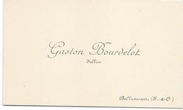 Carte De Visite/ Gaston Bourdelot/ Sellier / BALLANCOURT/ Seine & Oise /Vers 1930                    CDV5 - Cartes De Visite