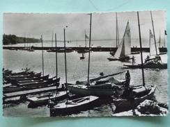 V07-74-A1-haute Savoie--thonon -le Port-et La Pointe D'yvoire-barques Voiliers-beau Timbre-1958 - Thonon-les-Bains