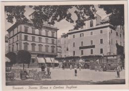 AK - FRASCATI - Strassenansicht Mit CANTINA PUGLIESI 30er - Roma