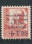 Canarias  Edifil. Nr. 17 - Emisiones Nacionalistas