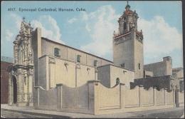 POS-604 CUBA POSTCARD. CIRCA 1920. HABANA. CATEDRAL EPISCOPAL. CATHEDRAL. - Cuba