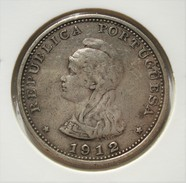 INDIA PORTUGUESE. 1  RUPIA 1912. ARGENT. INDE. PORTUGUESE COLONIES. PORTUGAL - Portugal