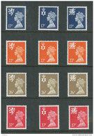 GRANDE-BRETAGNE - 1990 - REGIONAUX - NEUFS ** LUXE/MNH - Yvert # 1499/1510 - Série Complète 12 Valeurs - Unclassified