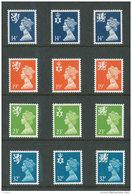 GRANDE-BRETAGNE - 1988 - REGIONAUX - NEUFS ** LUXE/MNH - Yvert # 1346/1357 - Série Complète 12 Valeurs - Unclassified