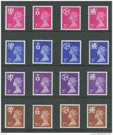 GRANDE-BRETAGNE - 1971 - REGIONAUX - NEUFS ** LUXE/MNH - Yvert # 624/639 - Série Complète 16 Valeurs - Unclassified
