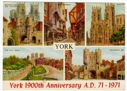 YORK - YORK 1900th Anniversary A.D. 71 - 1971 - Vedi Retro - York