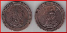 ****  GREAT BRITAIN - GRANDE-BRETAGNE - 2 PENCE 1797 GEORGE III **** EN ACHAT IMMEDIAT !!! - 1662-1816 : Anciennes Frappes Fin XVII° - Début XIX° S.