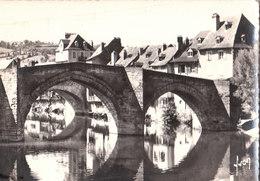 CPSM [12] Aveyron > Espalion - Le Vieux Pont Sur Le Lot - Espalion