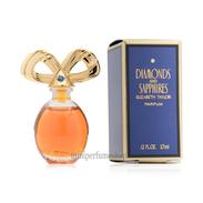 Miniature Parfum Elisabeth Taylor Diamonds And Sapphirs 3,7 Ml. - Miniatures Femmes (avec Boite)