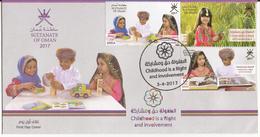 Oman 2017 - Childhood FDC - Oman