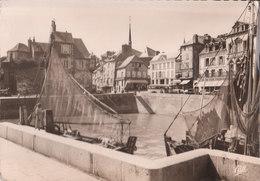 CPSM [14] Calvados > Honfleur - Le Port De Pêche - Animée - Honfleur