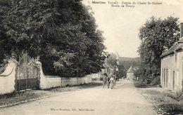 - MEZILLES - Entrée Du Chalet St Hubert, Route De Toucy  (animée, Attelage)   -16744- - Autres Communes