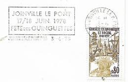 94  JOINVILLE LE PONT  Fête Des Guinguettes 17/18 Juin 1978  3/06/78 - Autres
