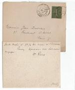 LBEL2- LETTRE A EN-TÊTE INSTITUT PASTEUR SIGNEE DR. ROUX NOVEMBRE 1917 - Autogramme & Autographen