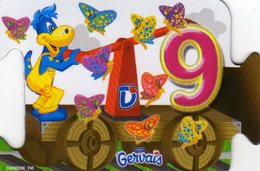 Magnets Magnet Gervais Chiffre 9 Danonino - Letters & Digits