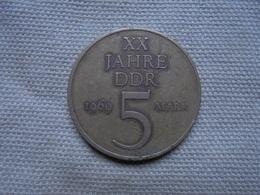 Ancien - Pièce De 5 Mark XX Jahre DDR 1969 - [ 6] 1949-1990 : RDA - Rép. Démo. Allemande