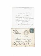 LBEL2- LETTRE SIGNEE OLIVIER MERSON - Autographes