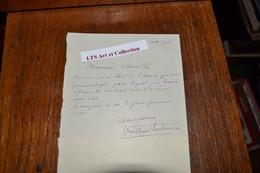 LETTRES .MINUTES. DE DÉTENUS POLITIQUES  A LA SANTÉ ET LETTRES AUTOGRAPHES DE G.PERI .PAUL VAILLANT COUTURIER ETC.. - Historical Documents