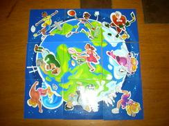 Magnet Magnets Planete Sports Pitch Pasquier Ensemble De 9 Pieces Complet - Sports