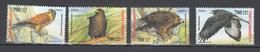 Turkey 2004,4V,set,birds Of Prey,roofvogels,birds,vogels,vögel,oiseaux,pajaros,uccelli,aves, MNH/Postfris(A3278) - Aigles & Rapaces Diurnes