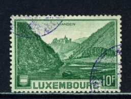 LUXEMBOURG  -  1935  Vianden Castle  10f  Used As Scan - Luxembourg