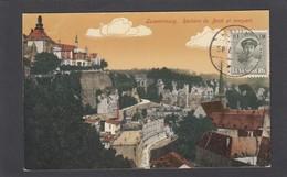 ROCHERS DU BOCK ET REMPART. - Luxembourg - Ville