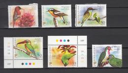 Singapore 2007,6V Some+cornerpiece,birds,vogels,vögel,oiseaux,pajaros,uccelli,aves,MNH/Postfris(A3281) - Vogels