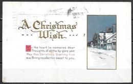 1914 Christmas Greetings, Mailed - Christmas