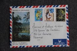 Lettre Envoyée De NOUVELLE CALEDONIE à VANVES ( 92). - Briefe U. Dokumente
