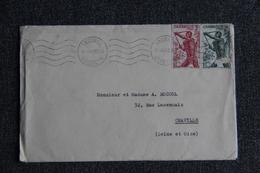 Lettre Envoyée Du CAMEROUN à CHAVILLE ( FRANCE ) - Kameroen (1960-...)