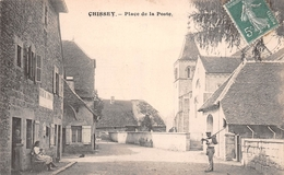 39 - Chissey - Place De La Poste - Belle Animation Devant La Poste - Other Municipalities