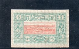 COTE DES SOMALIS 1894-1900 * - Ungebraucht