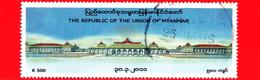Myanmar (Birmania)  - Usato -  2011 - Architettura - Edifici - Palazzi Governativi - 500 - Myanmar (Burma 1948-...)
