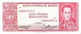 Bolivia - Pick 163a - 100 Pesos Bolivianos L. 1962 - XF - Bolivia