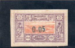 COTE DES SOMALIS 1902 * DEFECTEUX - Ungebraucht