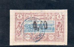 COTE DES SOMALIS 1902 O - Gebraucht