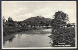 A3472 - Alte Ansichtskarte - Meiningen - Schloß Landsberg - Gel 1934 - Adolf Büchner - Schlösser